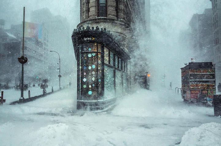 NYC Winter Storm Photo